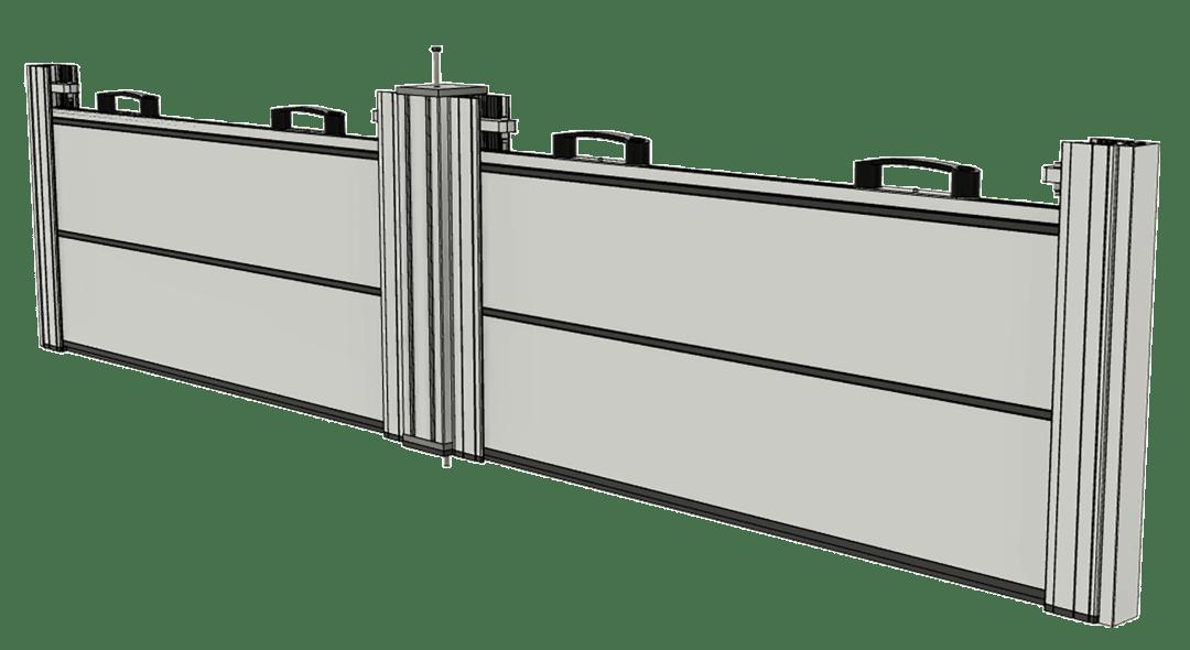 batardeau-barrière anti-inondation