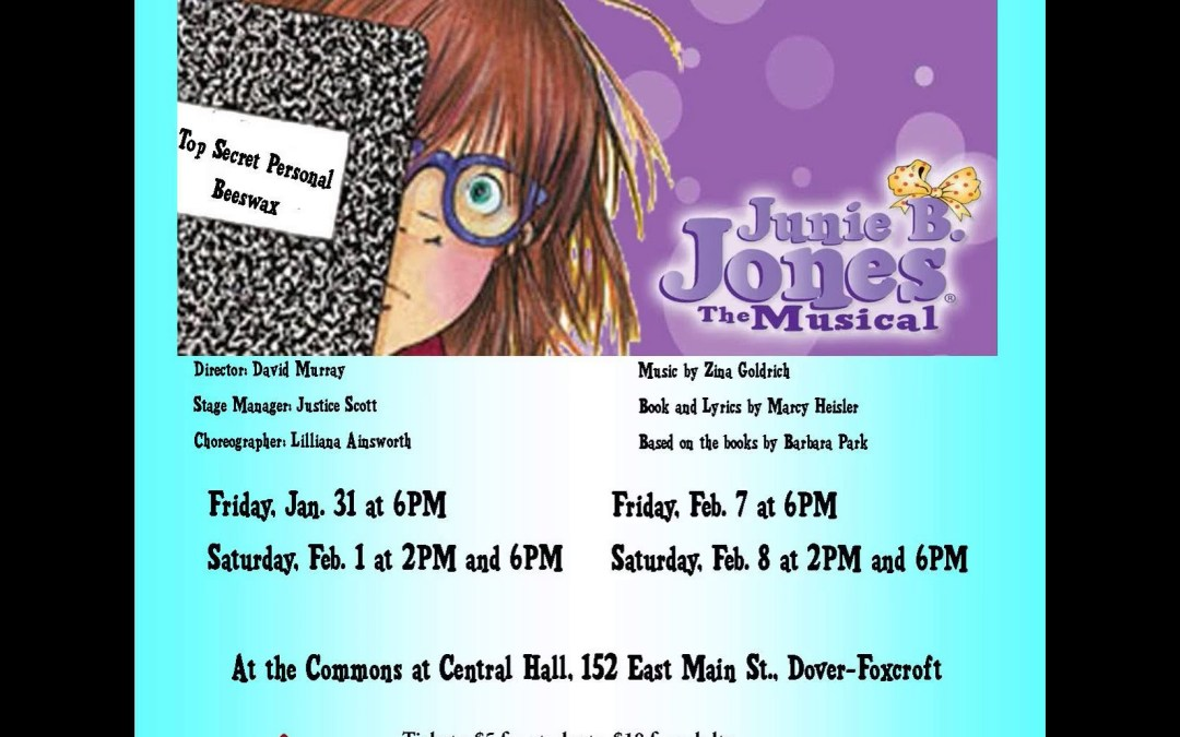 Junie B Jones the Musical Poster