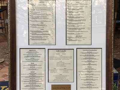 RENE'S FINE DINING AND THE ART OF FRAMING FOR PRESENTATION