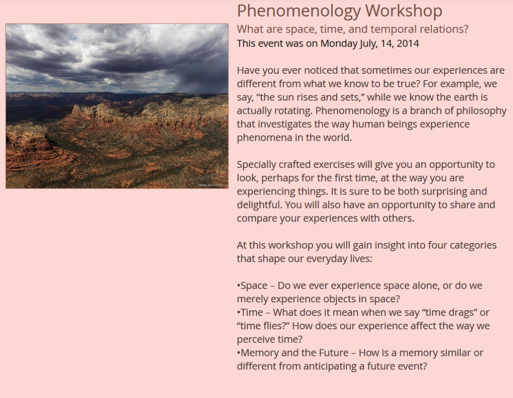 Phen workshop