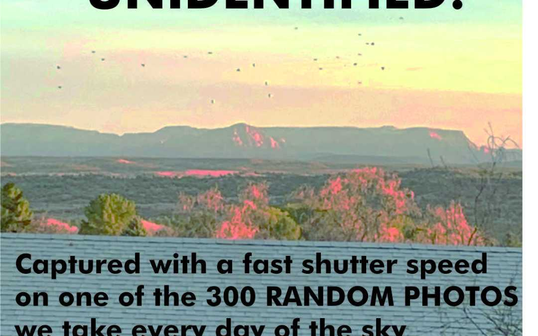 UFO'S in Sedona making Contact with a Contactee