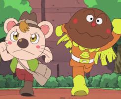 それいけ!アンパンマン ブルブルの宝探し大冒険!