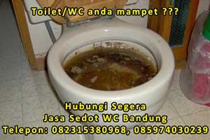 Jasa layanan sedot wc / tinja di Bandung