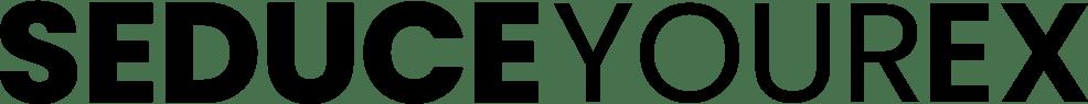 Seduce Your Ex   Best Women's Ex Back Offer  Image of sye logo black