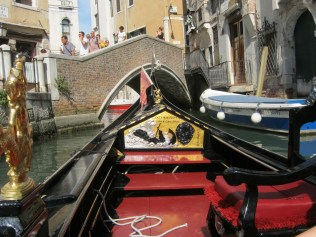 ...of riding in a gondola.