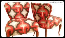 Poltroncine anni 50 - 1950s slipper chairs