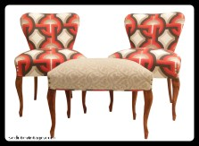 Slipper chair set - Salottino da camera
