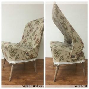 Poltroncina reclinabile, petite - Petite reclining armchair
