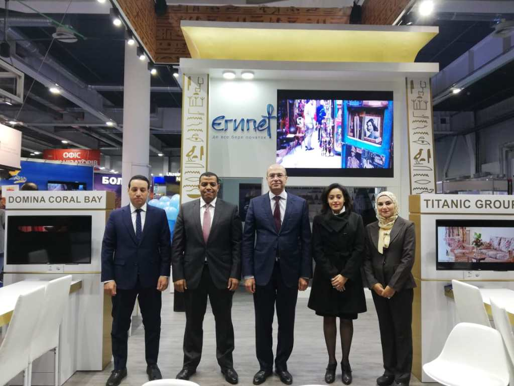 The Egyptian Pavilion Officials