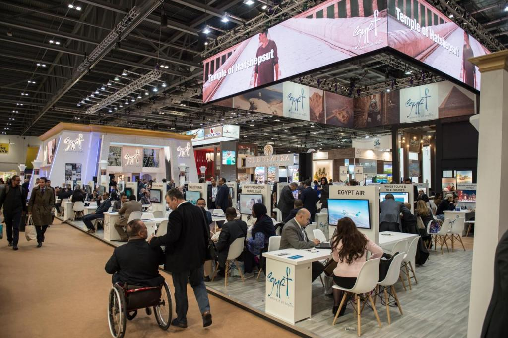 Egypt's Pavilion at WTM 2019