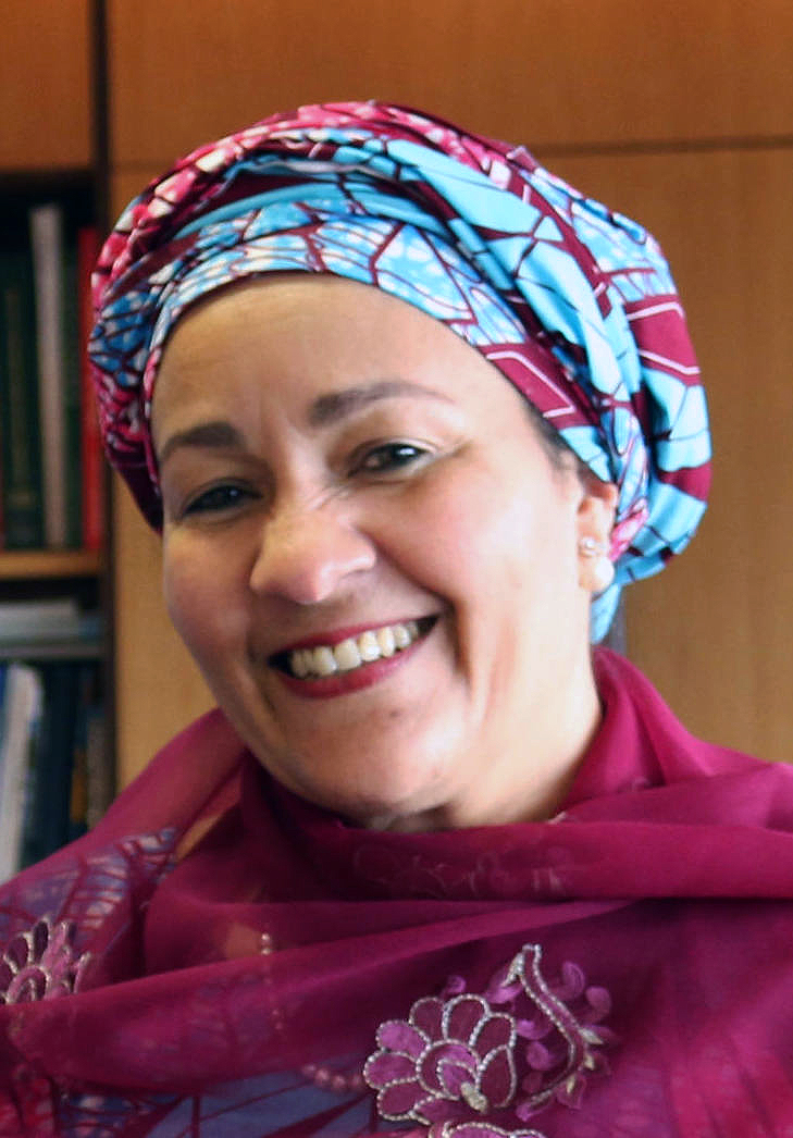 Omnia Mohamed, Deputy Secretary-General of the United Nations