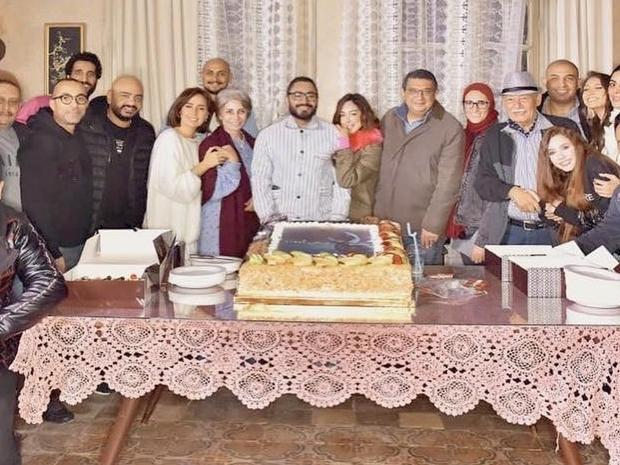 """""""Mesh Ana"""" cast with Tamer Hosny's wife"""