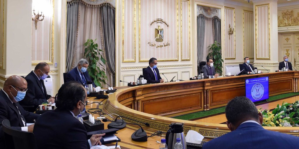 Madbouli and Ministers during The Meeting
