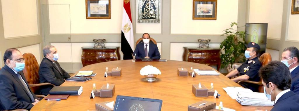 """Sisi Follows up on """"Future of Egypt"""" Project: Rady"""