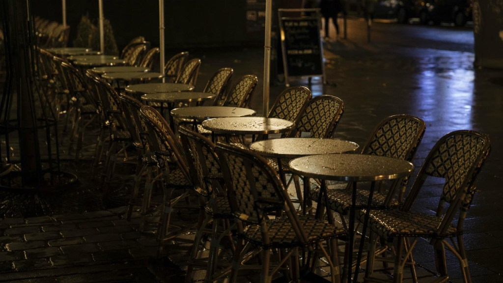 French Streets Empty, Curfew Expands to 46 Million People