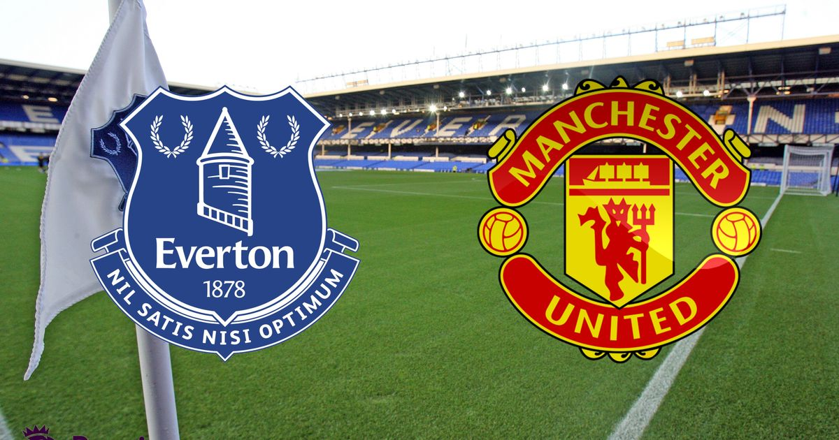 Everton Man Utd Possible Starting Line Ups