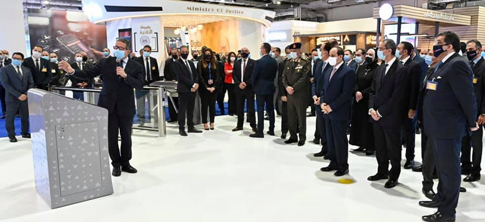Tourism and Antiquities Minister Khaled El Anany Briefs Sisi on The Fair