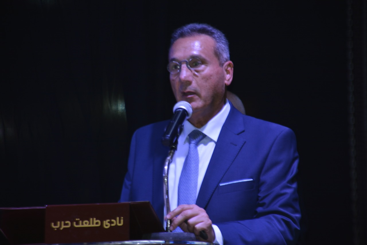 Mohamed Al-Atribi, Chairman of Talaat Harb Club and Chairman of the Board of Directors,