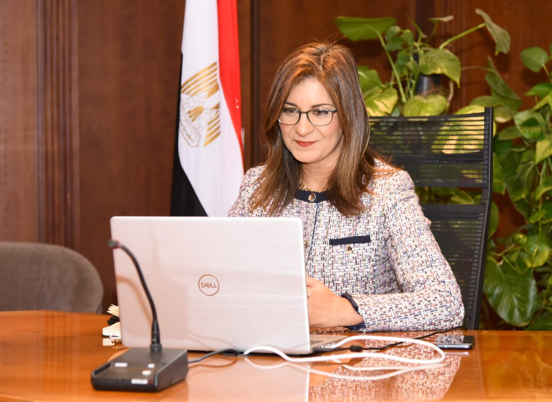 The minister is in a dialogue with the children of Egyptians abroad