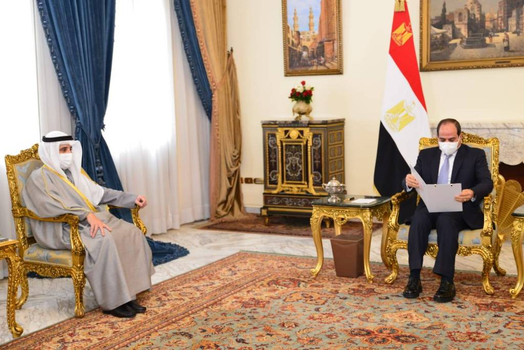 Sisi, Kuwaiti FM Discuss Bilateral Relations: Rady