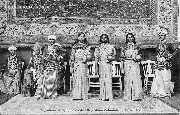 1906: Ceylonese Exposition in Paris