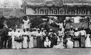 1926: Singhalesen Dorf (The Sinhalese Village) of the VÖLKER-SCHAU