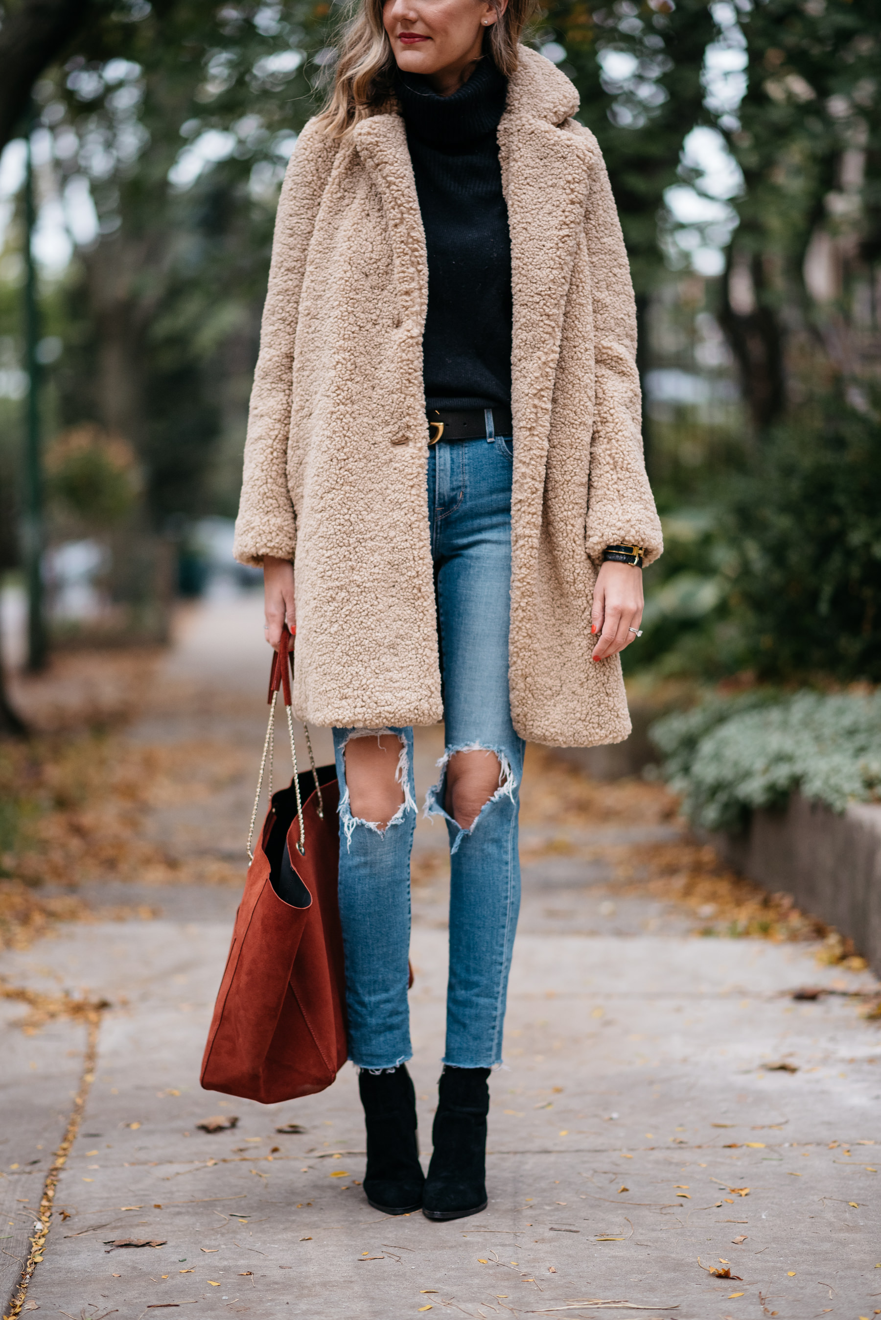 Fall Outfit Big Jacket