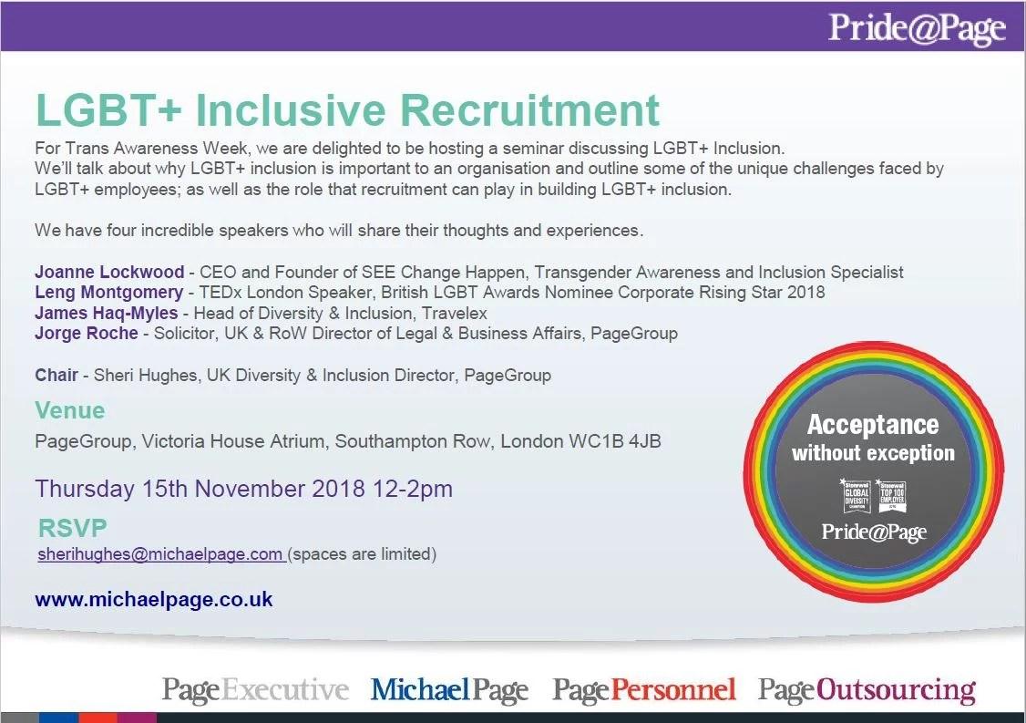 Inclusive Recruitment Invite