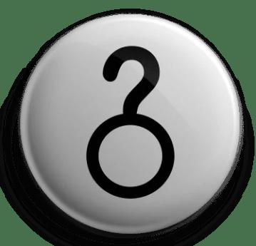 Questioning Glyph