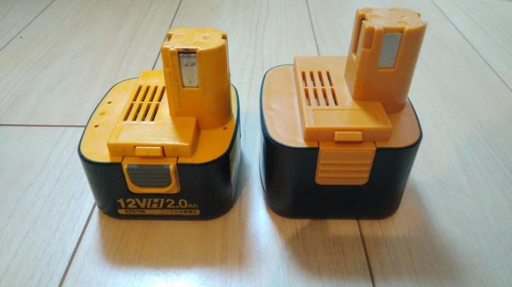 パナソニックの電動工具の12V互換バッテリーを購入。格安で電動ドライバーの電池容量アップ!Nationalにも対応。