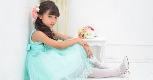 子供ドレス撮影