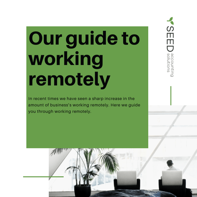 Guide to remote working