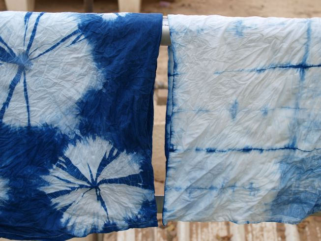 shibori pillowcases