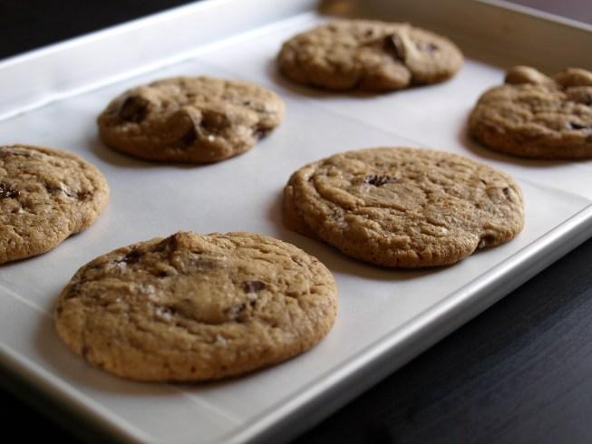 Spelt Chocolate Chip Cookies