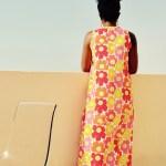 Kiomi Dress #2: Maxi Version in Marimekko Unikko