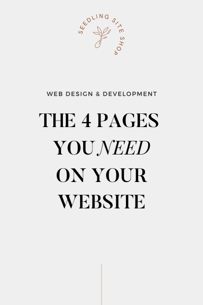 Website Page Guide - How to Design a Website