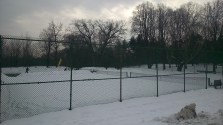 Winter doesn't slow down these High Park tennis players!
