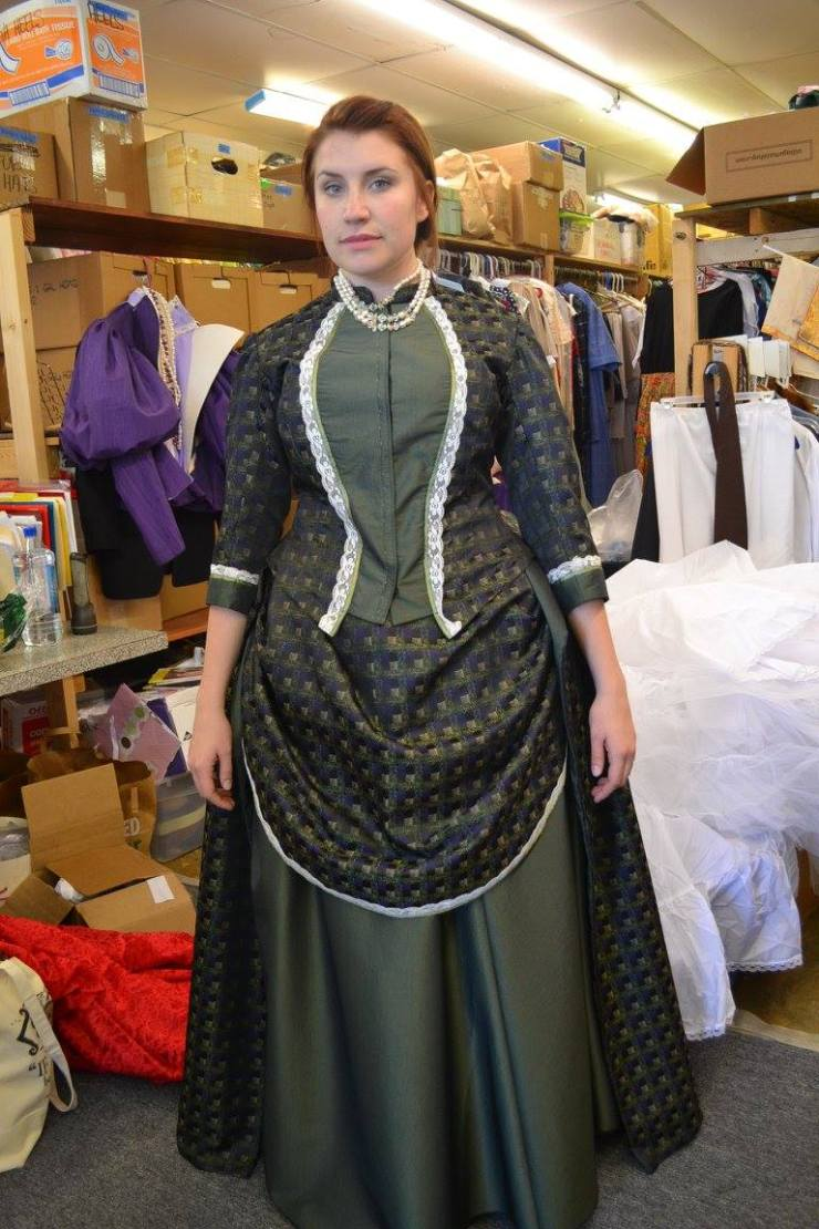 The Importance of Being Earnest Gwendolyn Original Costume Design By Jai Lynn
