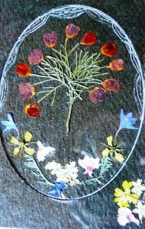 Pressed Flower Greeting Cards.   Garden Magic. Creative ...