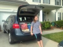 car's all packed and ready to go to SoDak!