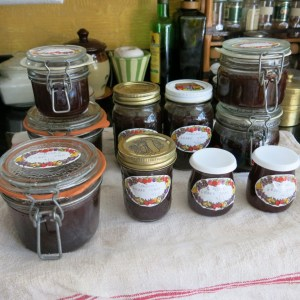 Grape jam galore!