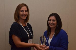 Samantha Sisk, AgReliant Genetics communications manager, is named 2015 Future Giant of the industry by Seed World in partnership with the Future Seed Executives. The award was presented by Julie Deering, editor of Seed World, during the FuSE reception, a part of ASTA's 132nd Annual Convention in Washington, D.C.