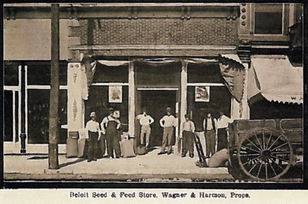 The original Star Seed location as it looked in the early 20th century.