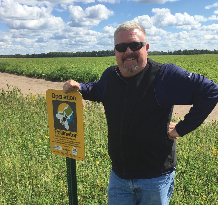 Vince Restucci, director of procurement and business technology for the farm division of Minnesota potato operation R.D. Offutt Company, believes a positive dialogue has begun in regard to coexistence of farmers and beekeepers.