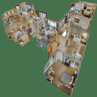 Matterport Dollhouse Layout