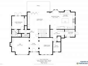 Schematic Floorplan