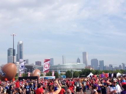 Fanfest & Chicago Skyline