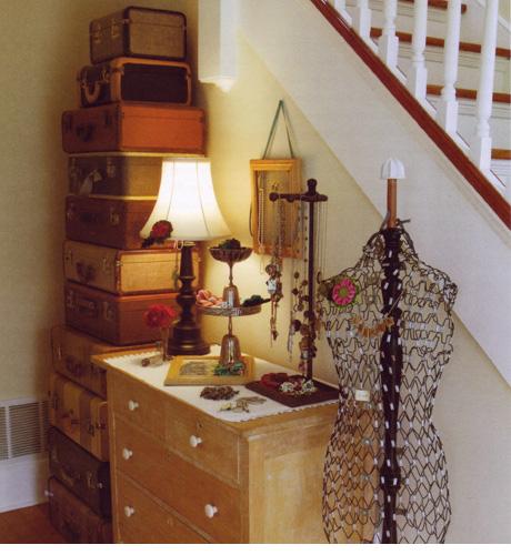 Bedroom Decorating Ideas Suitcase Storage