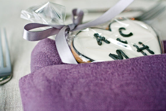 -custom designed cookie wedding favors
