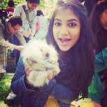 me + bunny